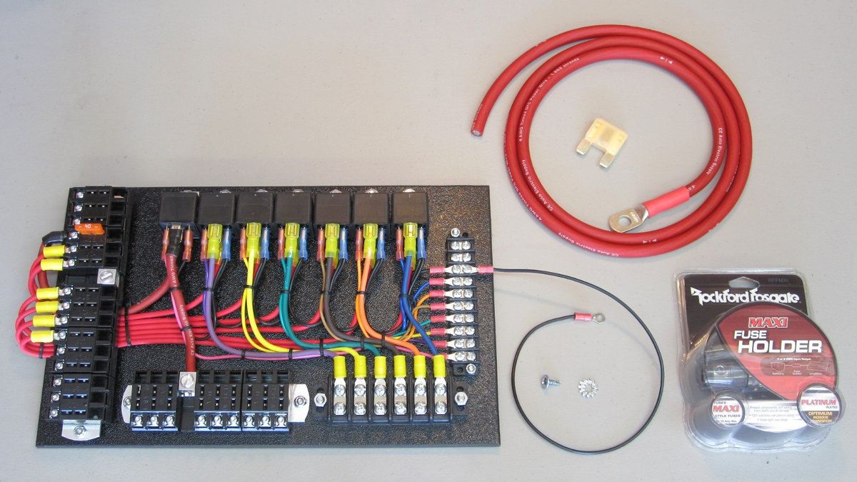 7 Relay Panel Kit With Images Relay Paneling Custom