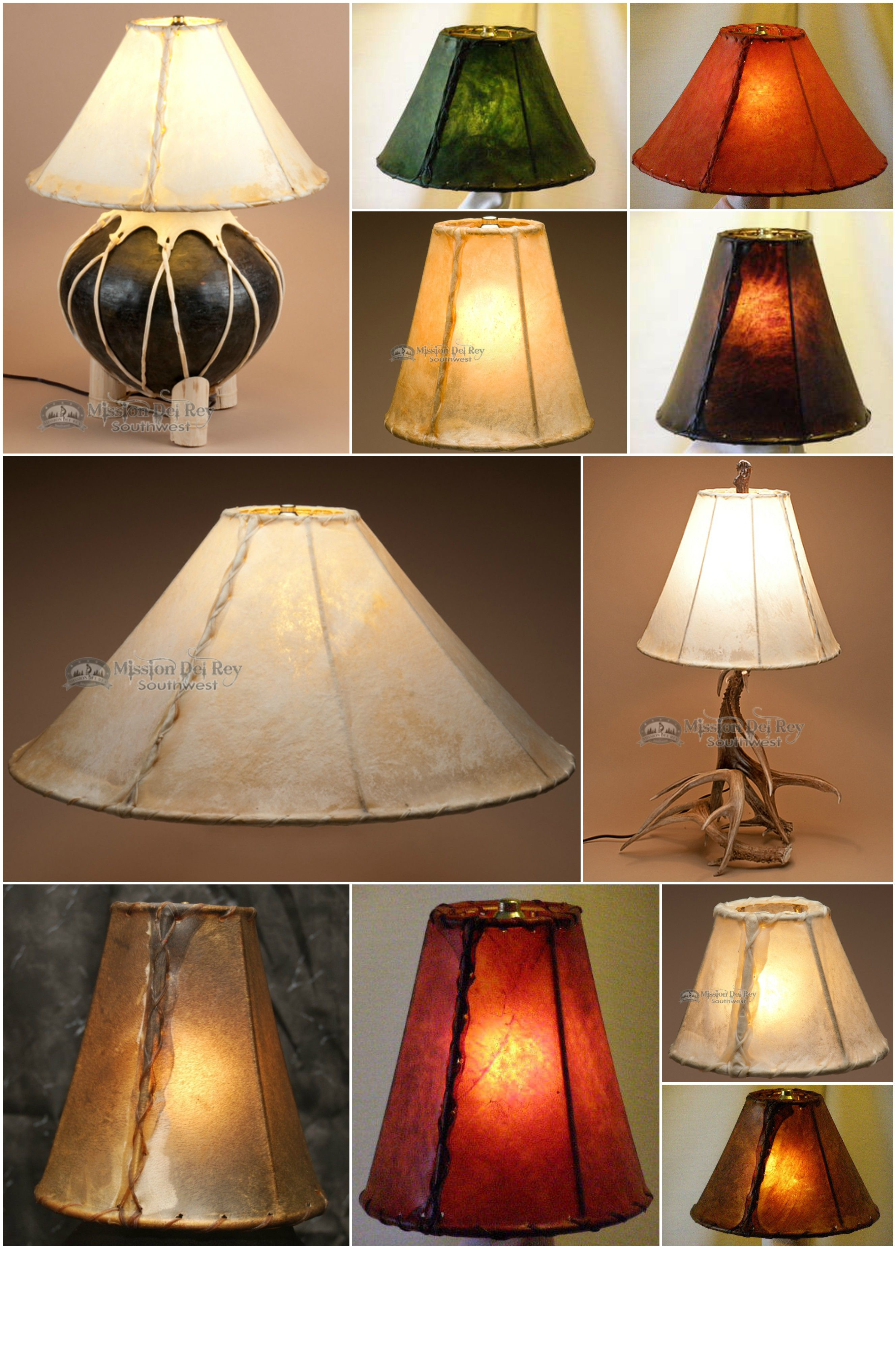 Southwestern lamp shades are the easiest way to add authentic ...