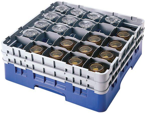 Zobacz czym jest Pełnowymiarowa skrzynka na kieliszki i szklanki, 25 pól, śr. 87 mm, wys. 92 mm   CAMBRO, Camrack w sklepie gastronomicznym Technica. Sprawdź cenę oraz szczegóły produktu i zamów online!