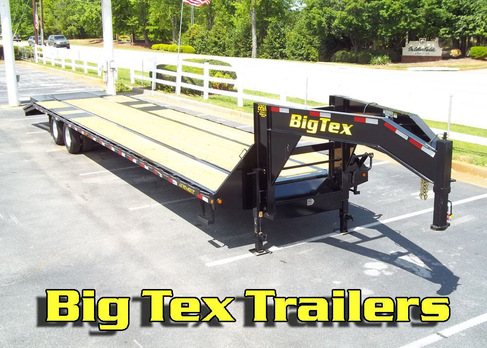 2014 Big Tex 10 Ton Gooseneck Equipment Trailers 25ft To 40ft Hot Shot Trailer Equipment Trailers Trailer Trailer Diy
