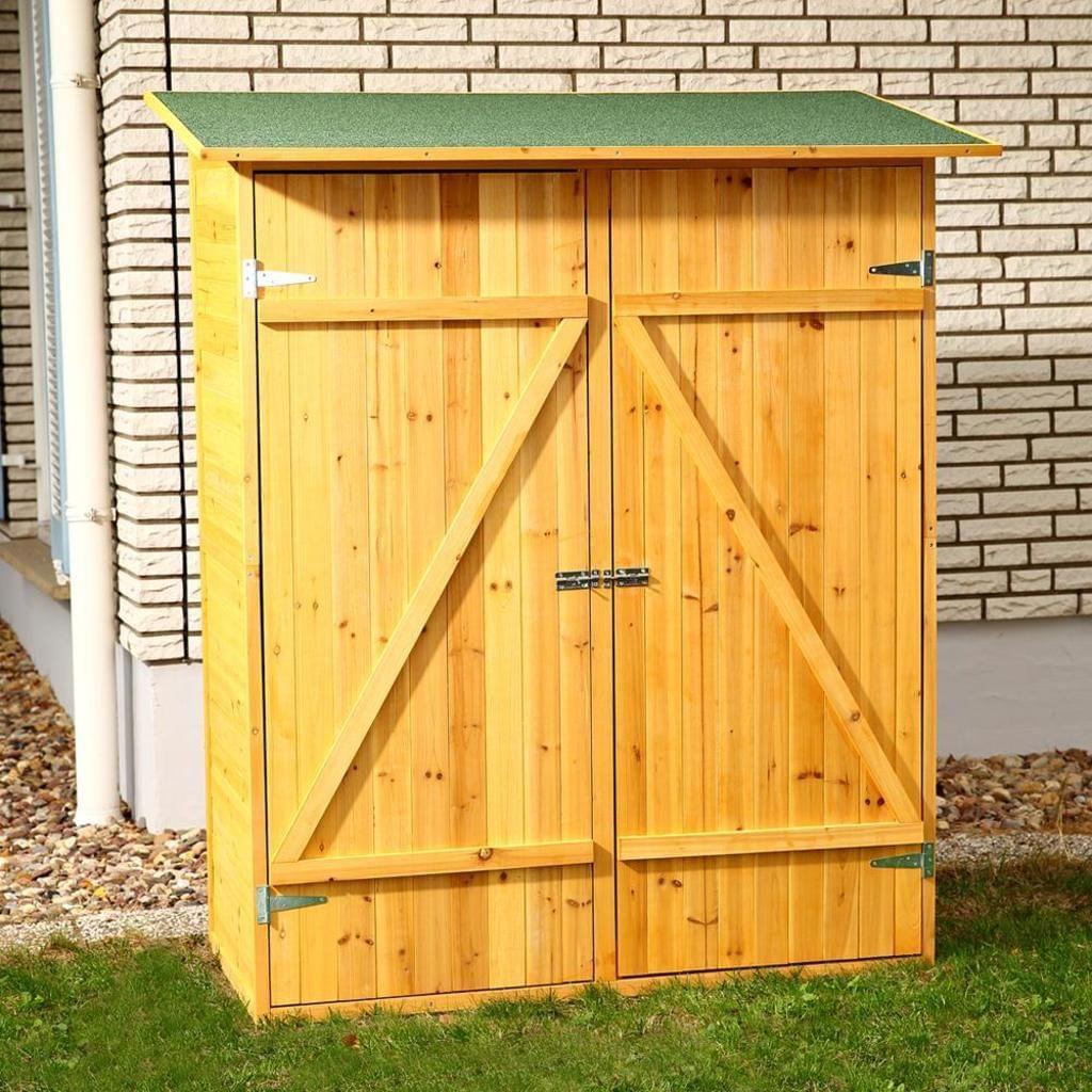 Gerätehaus Geräteschuppen Gartenschuppen Gartenhaus Holz