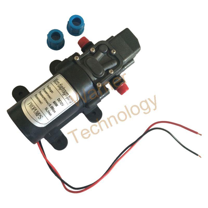 Free shipping mini electric diaphragm pump dc12v self priming pump free shipping mini electric diaphragm pump dc12v self priming pump 2m 60w 5lmin ccuart Images