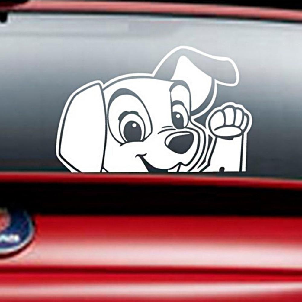 Funny Dog Moving Tail Car Sticker Cute Little Kawaii Cute Car Decals Cute Cars Cute Car Accessories [ 1000 x 1000 Pixel ]