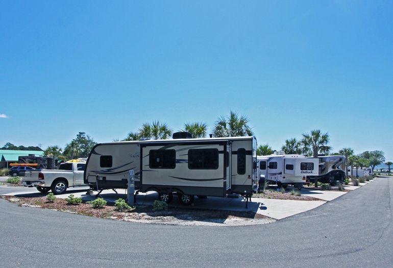 Rv Sites Campground Campsites In Carrabelle Florida Carrabelle Beach Carrabelle Florida Florida Rv Rv Sites