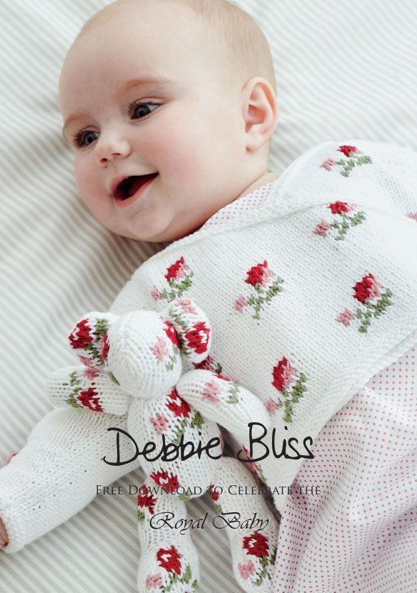 Rosebud Crossover Free Baby Knitting Pattern Knitting Pinterest