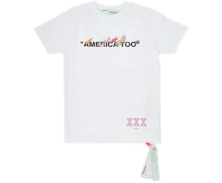 6641bdb6 Check out the Off-White Murakami America Too Tee White available on StockX