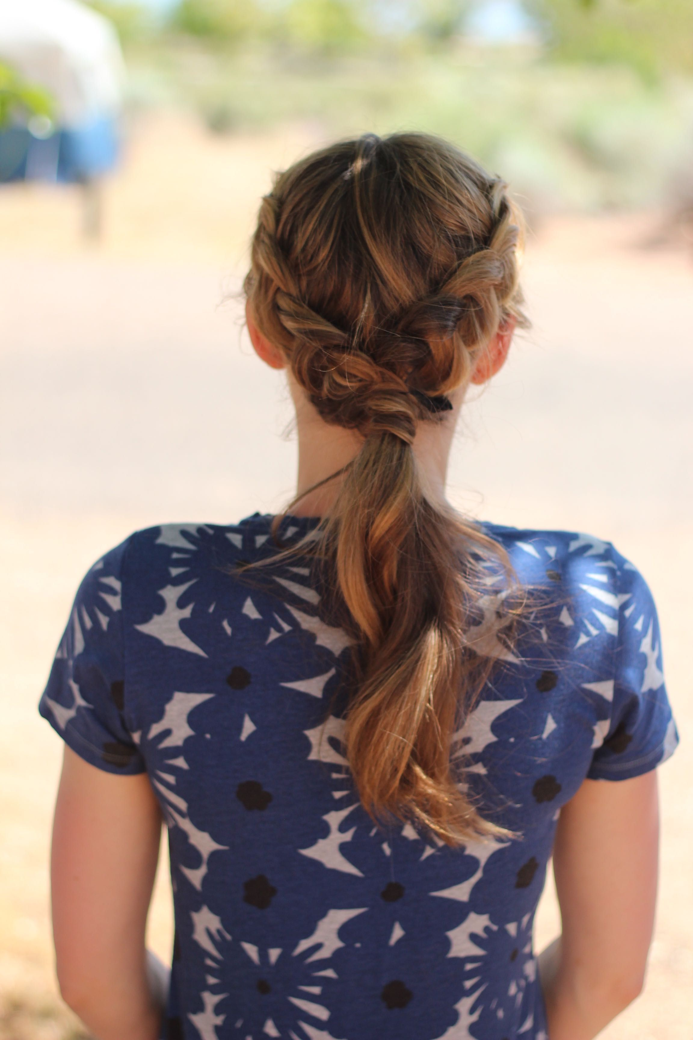 hair by christine herbst: camping hairstyle! #dutchbraids