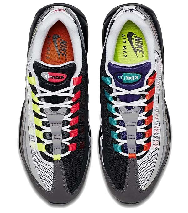 save off 8d747 56ef9  物欲スニーカー NIKE AIR MAX 95 OG QS GREEDY  BLACK   VOLT-SAFETY ORANGE  (810374- 078)