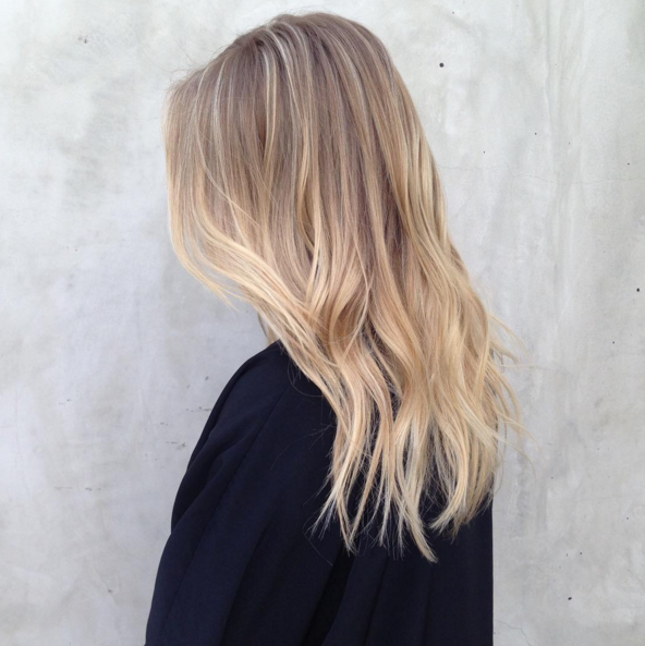Apr s le sand hair et le blond fraise voici la toute - Ombre et hair ...