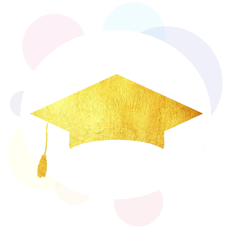 Graduation cap glitter. Top punto medio noticias