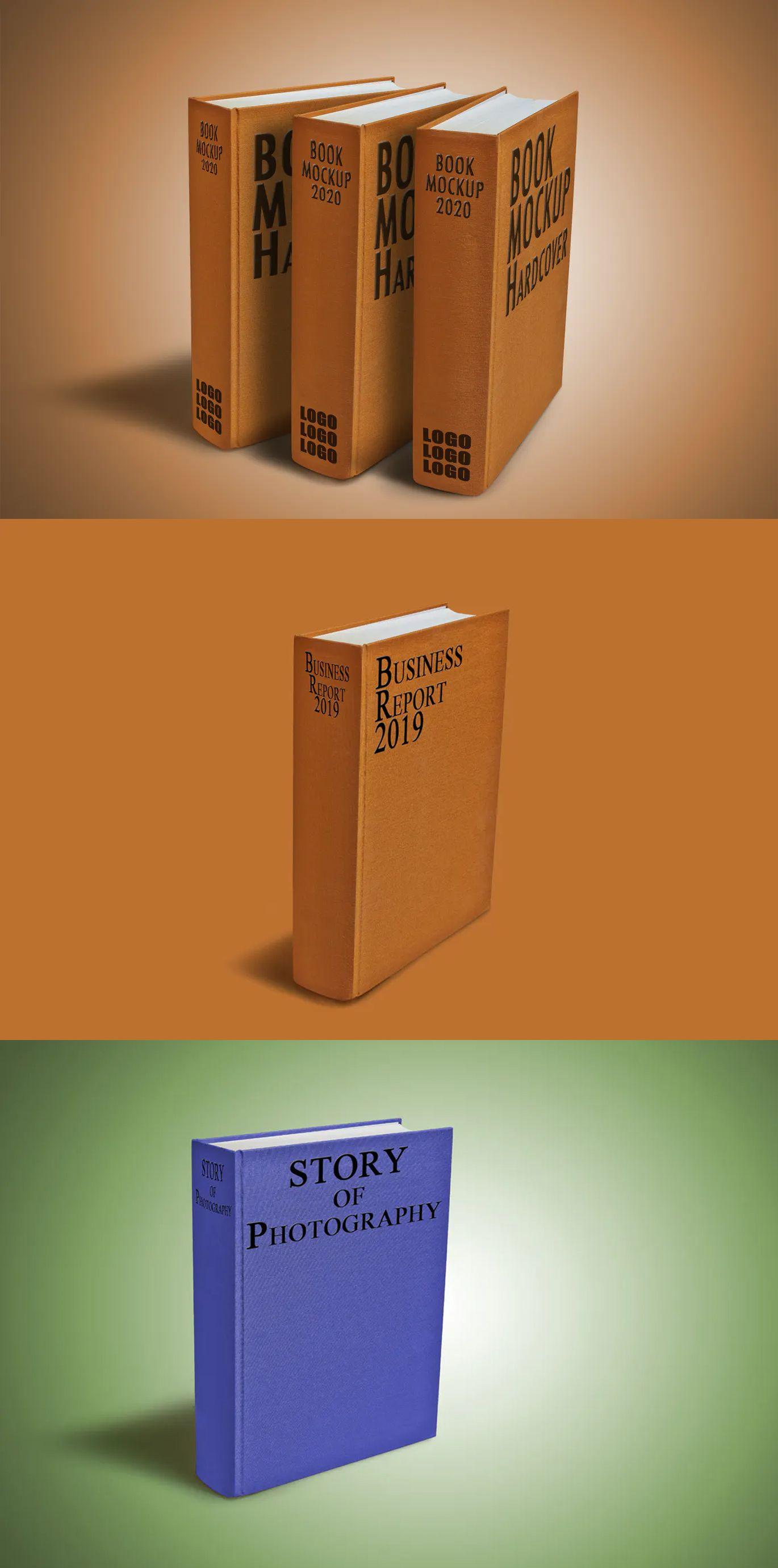 Download Hardcover Book Mockup Hardcover Book Hardcover Books