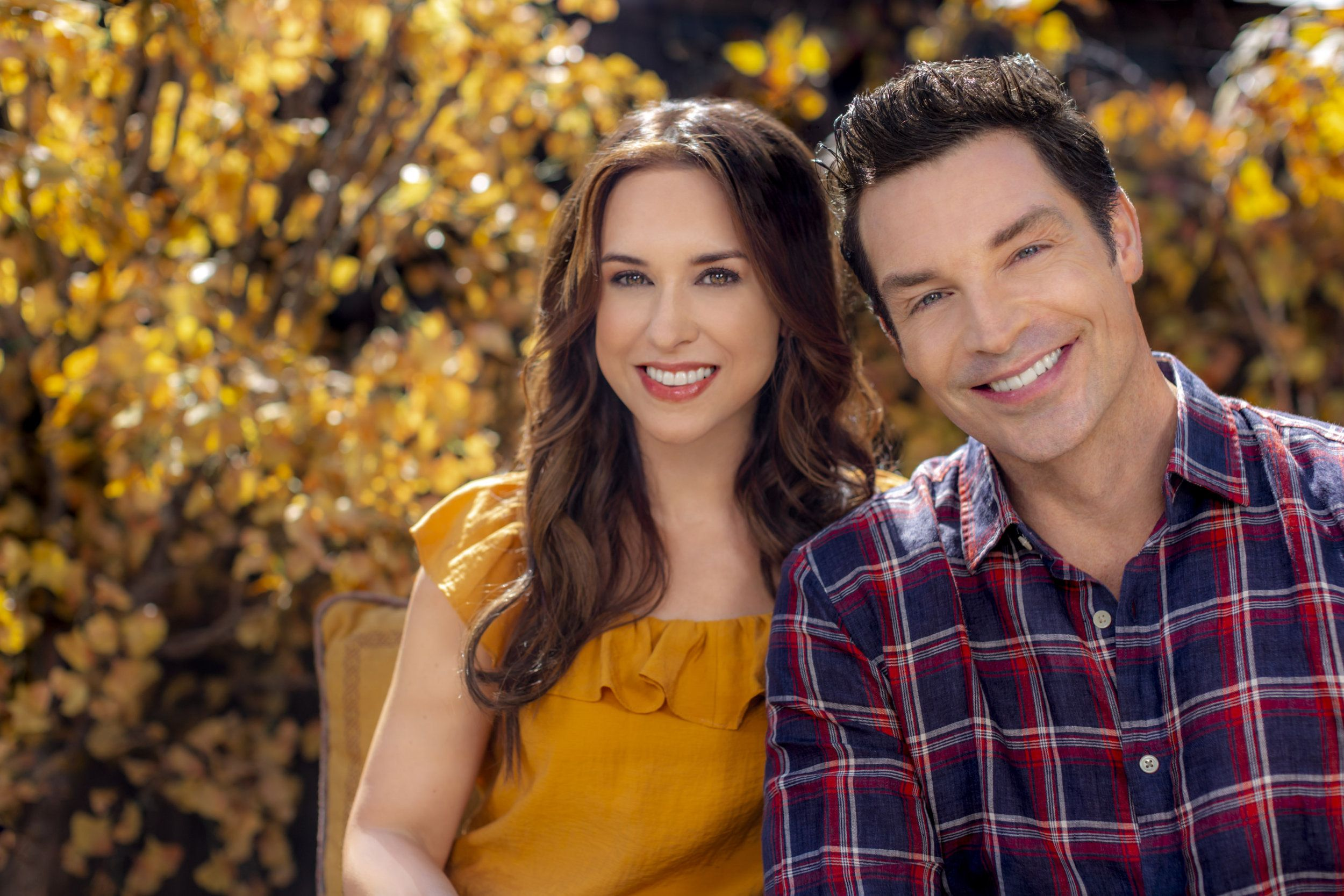 Join Lacey Chabert and Brennan Elliott for a look at the ...