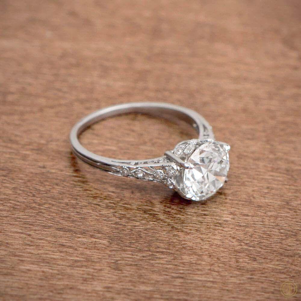 Antique Platinum Diamond Engagement Rings Louisville Ky