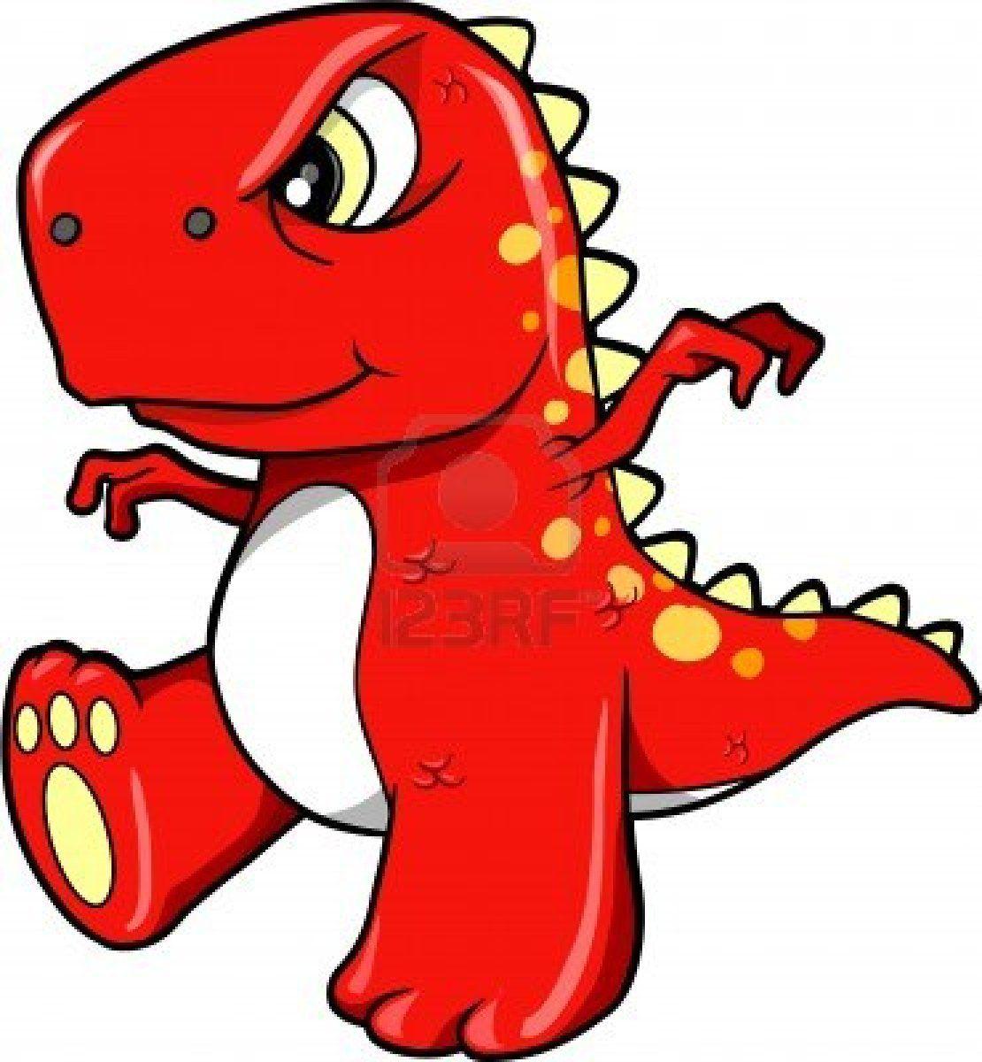 Angry Mean Red Dinosaur T Rex Vector Illustration Art T Rex Cartoon Dinosaur Drawing Dinosaur Clip Art