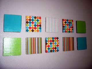 Easy ModPodge wall art from scrapbooking papers! Great for kids rooms. & Mode Podge wall art | Hodgy podgy | Pinterest | Diy mod podge and Craft