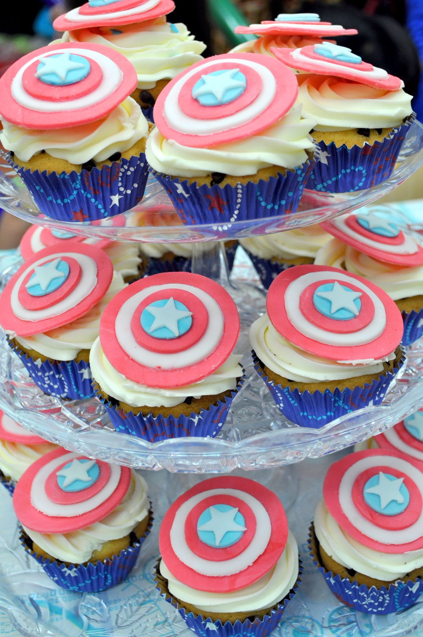 Captain America Birthday Party Kids Birthday Parties Pinterest