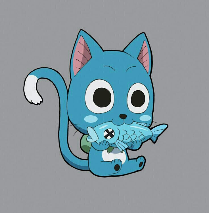 Happy The Cat From Fairy Tale Happy Fairy Tail By Misakibyakko