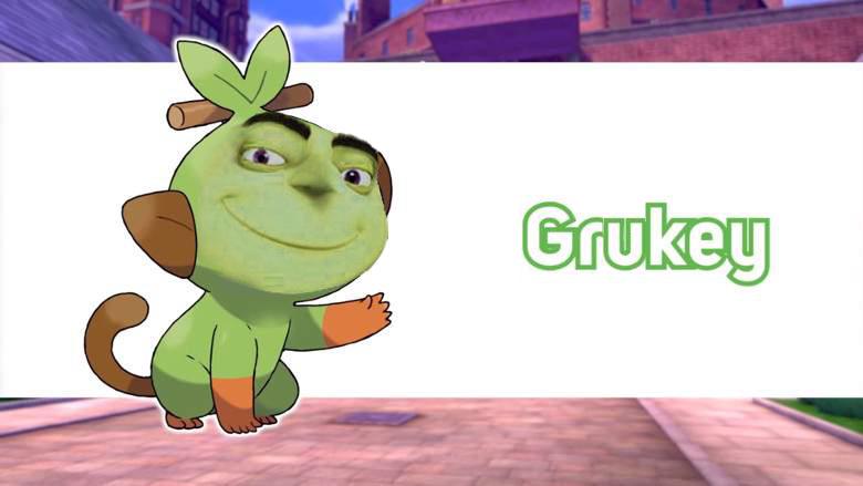 New Grass Starter Looks Great Pokemon Pokemon Sword Know Your Meme