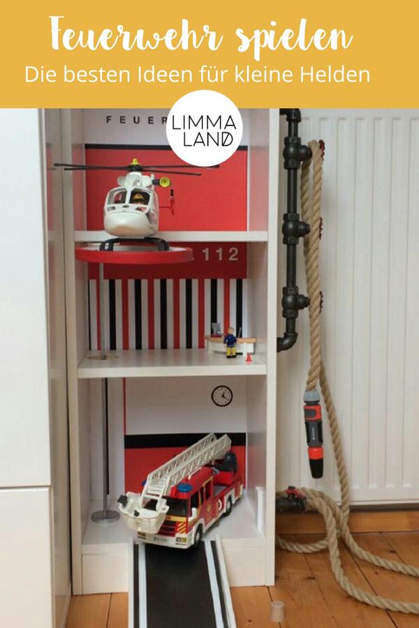 Feuerwehr Geschenke Alles Fur Kleine Feuerwehrfans Pinterest