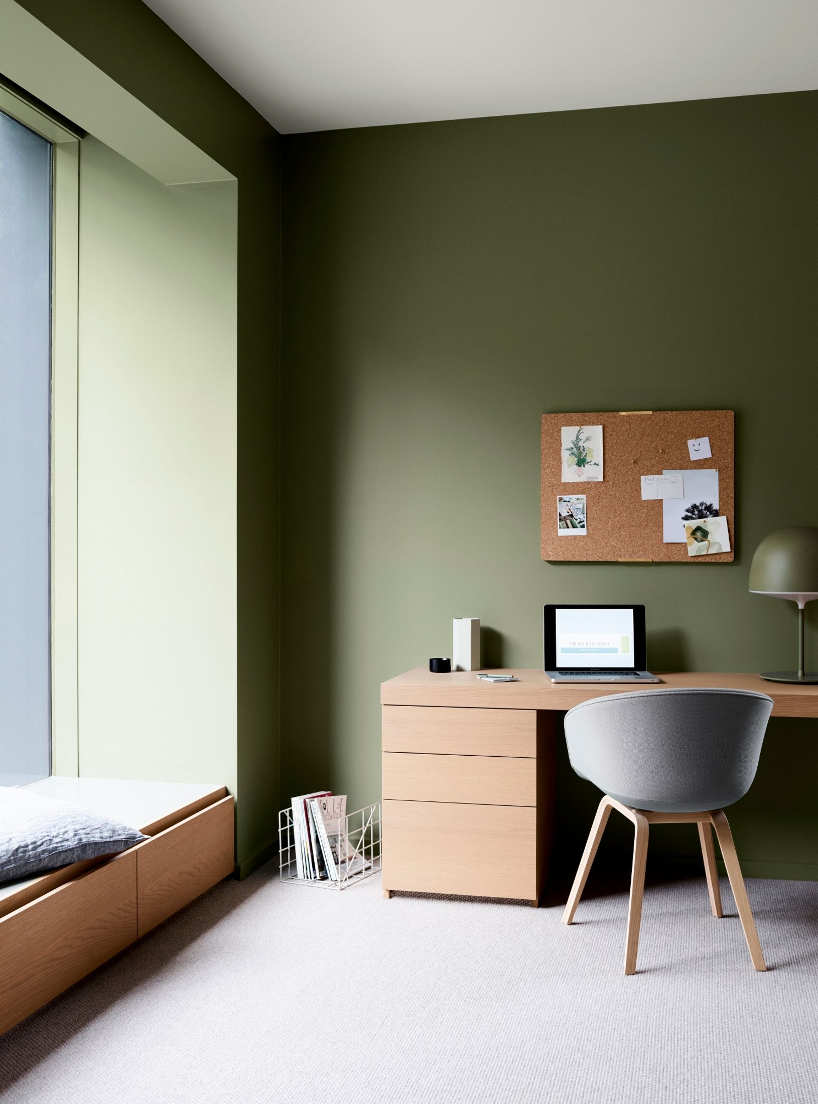 view paint colour ideas the latest colour trends dulux on home office color trends id=83571