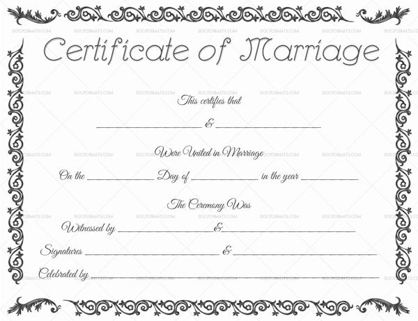 Editable printable marriage certificate template printable editable printable marriage certificate template yelopaper Gallery