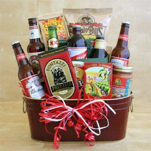 love this valentinesday2015 gift idea for your guy a manly gift basket with beer - Manly Valentine Gifts