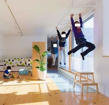 25 creative modern home with rock climbing walls for kids