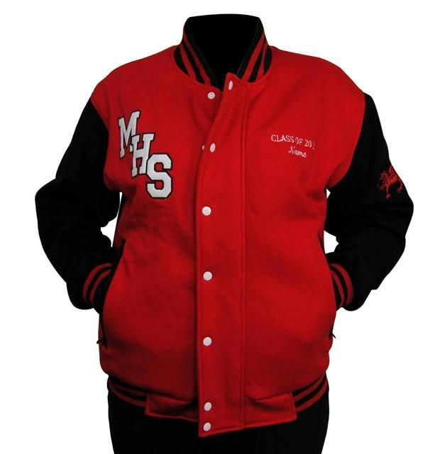 Menai High School Baseball Jacket | Year 12 Baseball Jackets ...