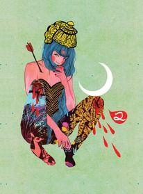 Arkhana - JESSICA SINGH // Illustration — Designspiration