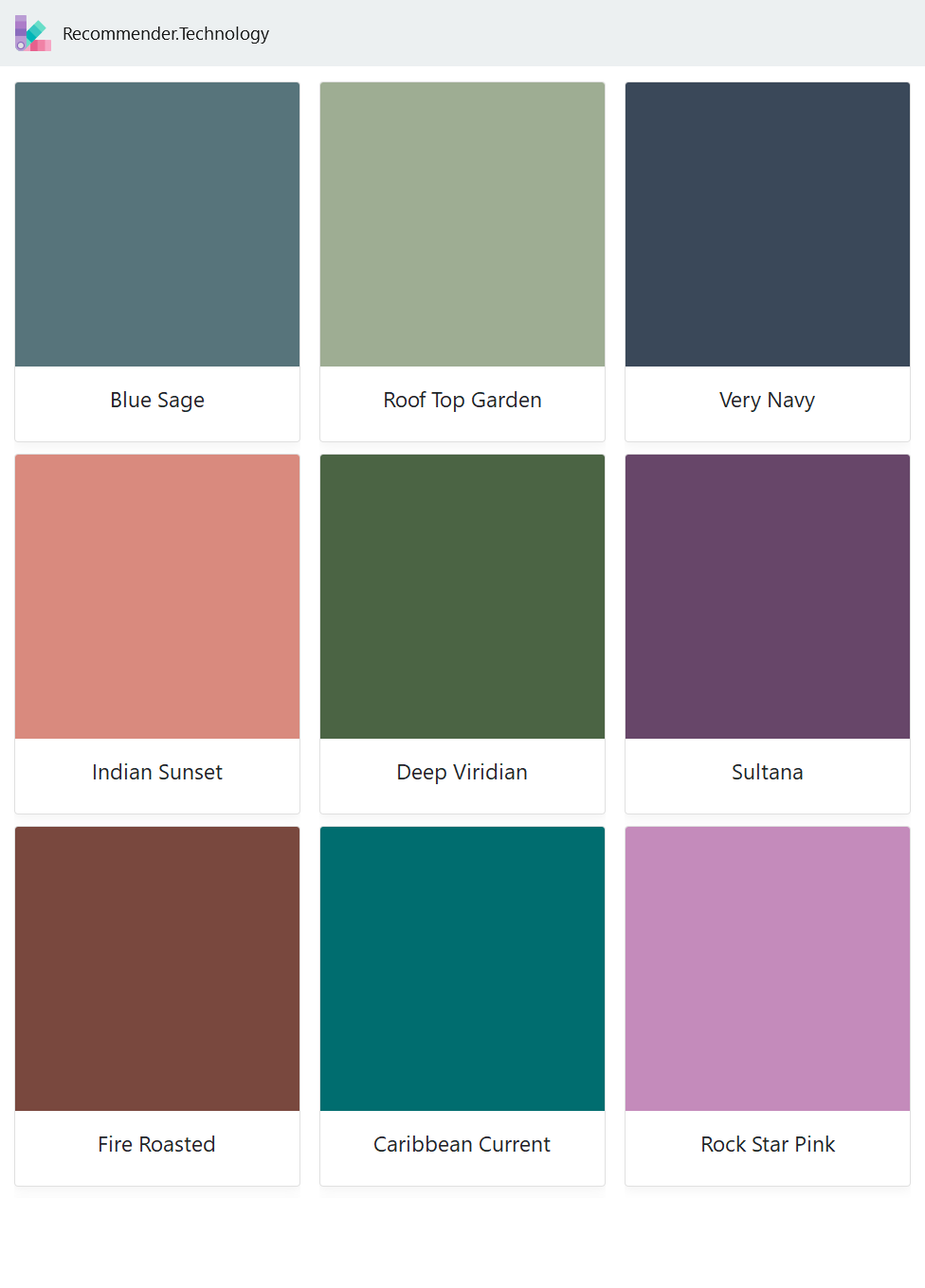 Blue Sage Indian Sunset Fire Roasted Roof Top Garden Deep Viridian Caribbean Current Very Navy Sultan Behr Paint Colors Paint Color Palettes Behr Colors