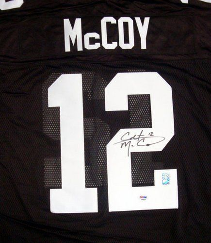 the latest ce733 36e15 Colt McCoy Cleveland Browns NFL Hand Signed Authentic Style ...