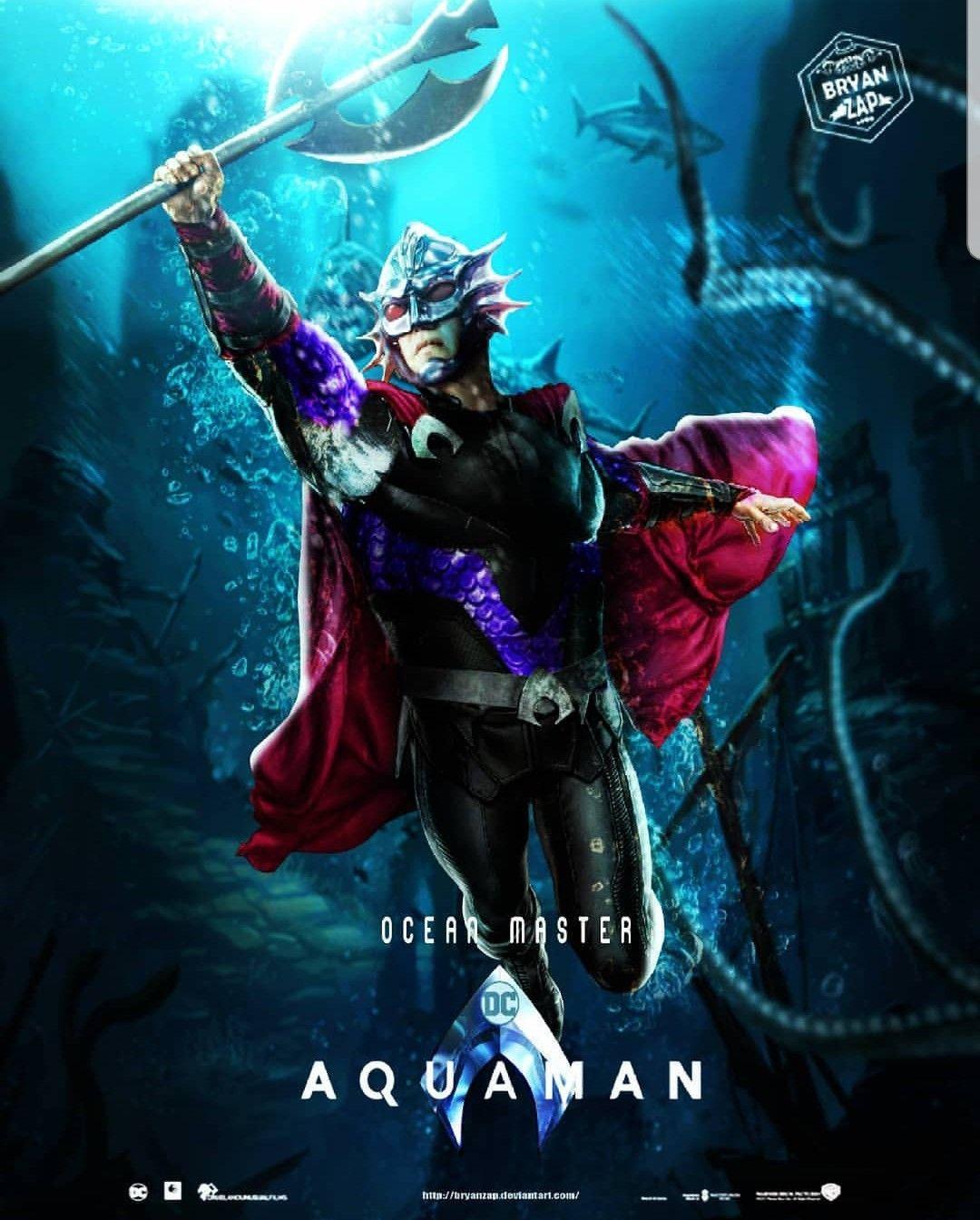 Ocean Master by BryanZap Liga De La Justicia a3c2a0baa36