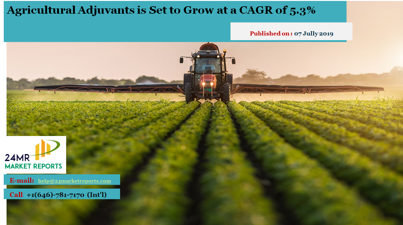 Global AgriculturalAdjuvants Market Report 2019 Market