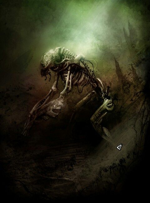 Necron Stalker - pray - Grimm Darkness - Dark Heresy