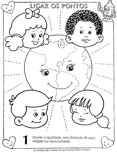 Estatuto Da Crianca E Do Adolescente Ilustrado Para Colorir