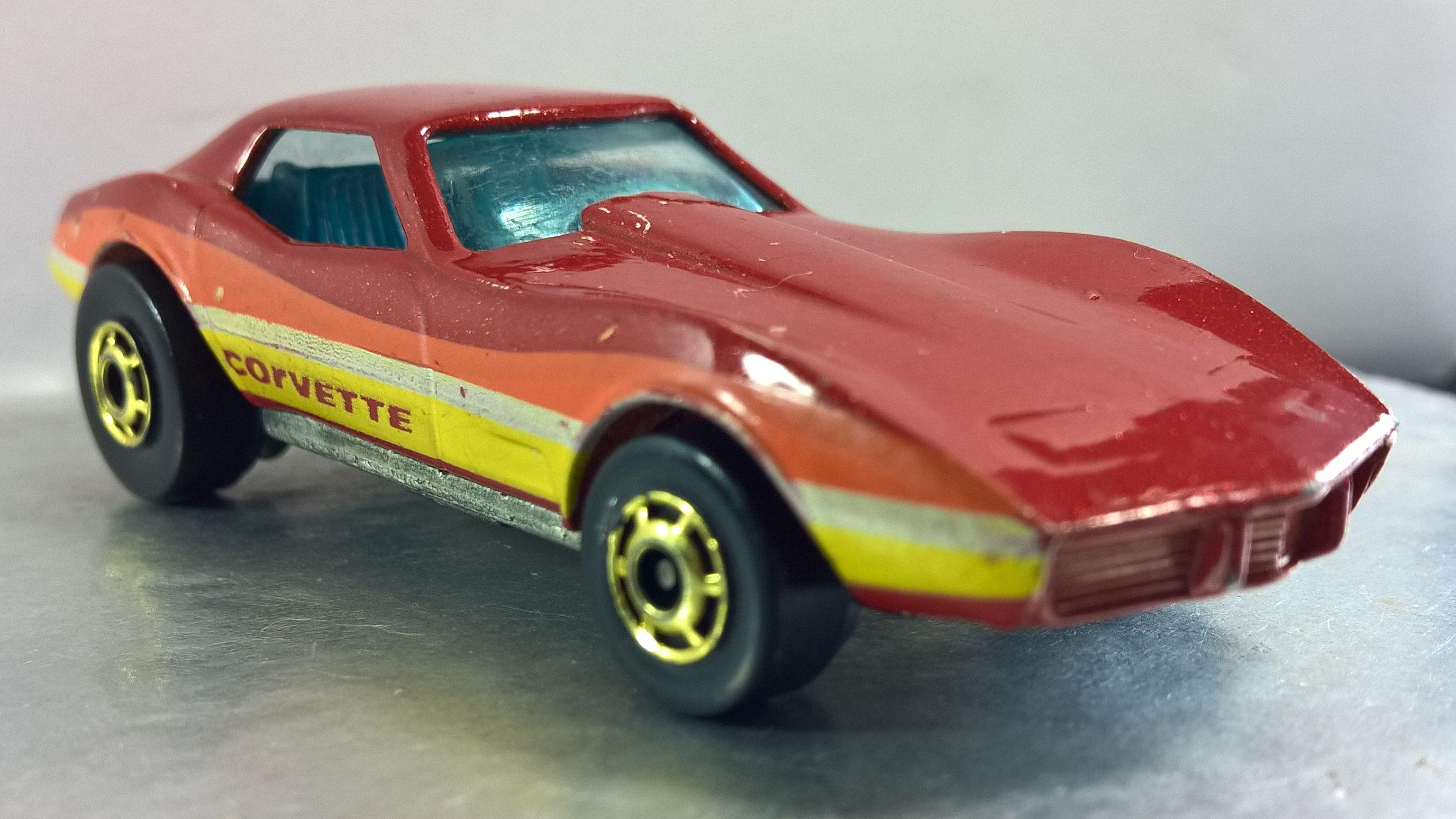Corvette Stingray The Hot Ones 1982 11 Toy Model Cars Hot Wheels Corvette Stingray
