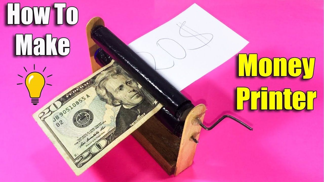 How To Make Money Printer With Paper