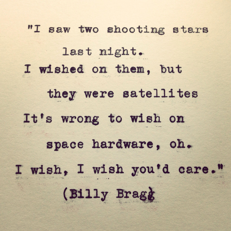 It says here billy bragg lyrics