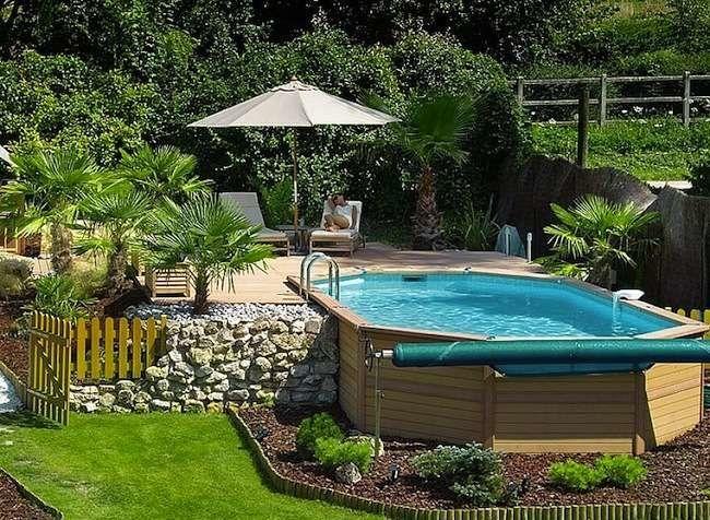 10 Amazing Above Ground Pool Ideas and Design Pinterest Ground