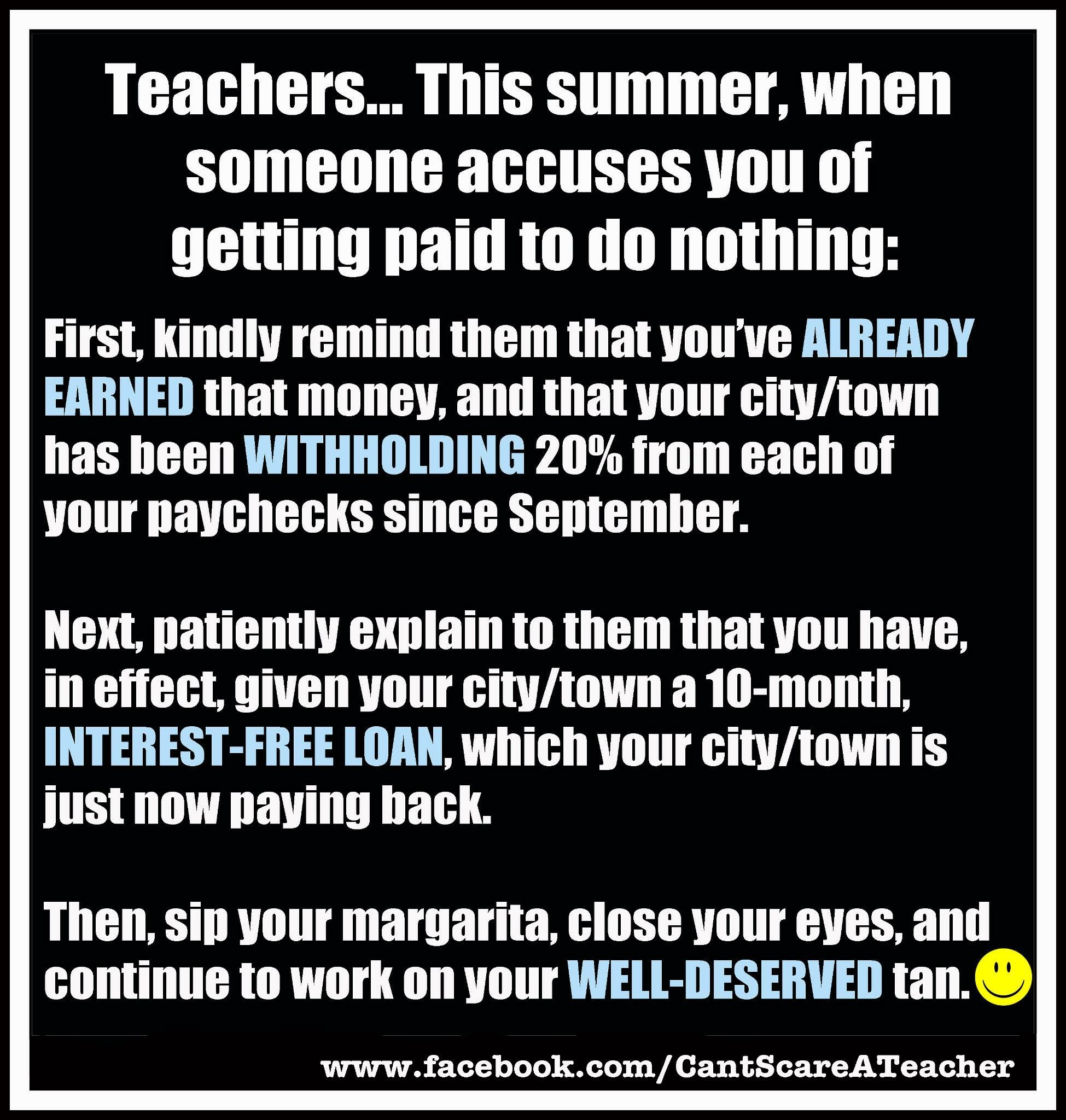 Top Ten Reasons To Be A Middle School Teacher )