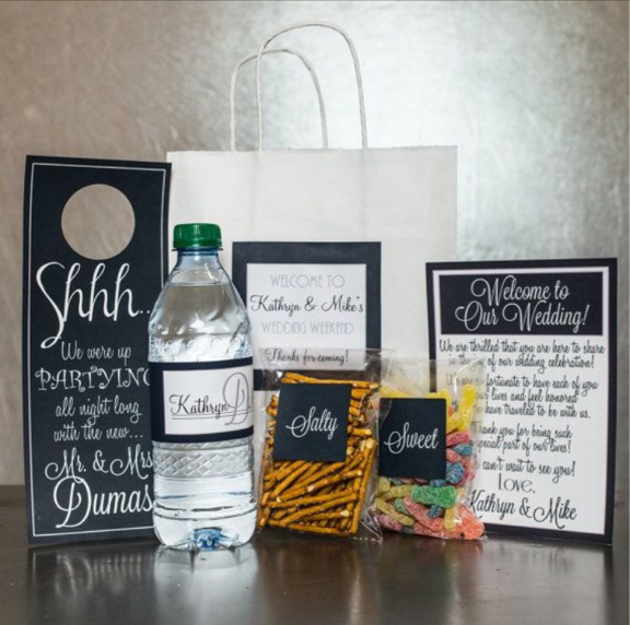 Welcome Bag Ideas New Jersey Wedding Planner