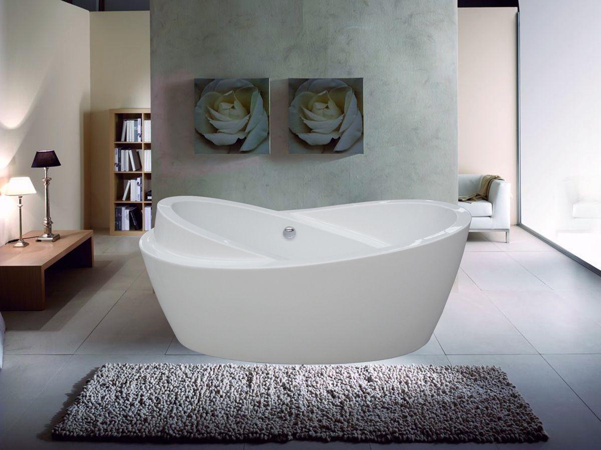 Shore Minimalist Contemporary Bathtub Bathtubs