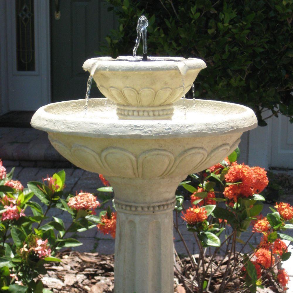 8df4b980322323a155b0ee8ffd3663cf - Smart Solar Gardens 2 Tier Solar On Demand Fountain