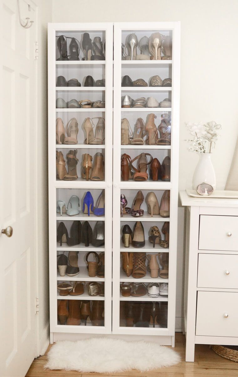 Ideas de almacenamiento de calzado para la entrada for Gabinete de zapatos para la entrada