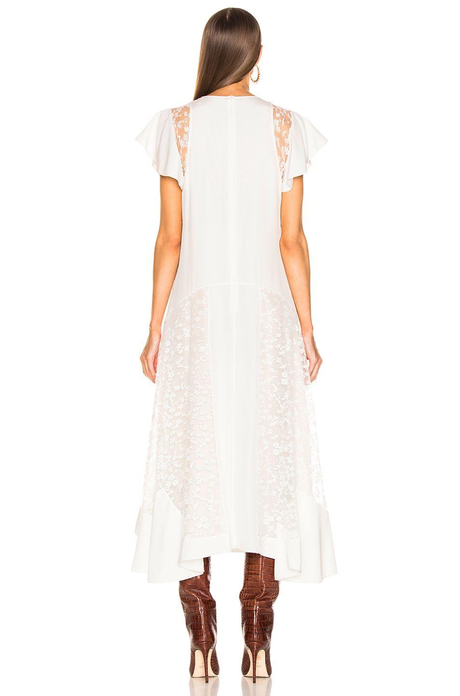 Image 4 Of Chloe Lace Dress In Iconic Milk Lace Dress Dresses Cold Shoulder Dress [ 1440 x 953 Pixel ]