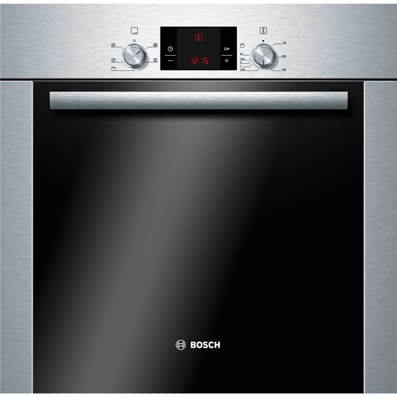 Uncategorized Bosch Integrated Kitchen Appliances 349 or a350 bosch serie 6 hba13b253b built in electric single a349 oven