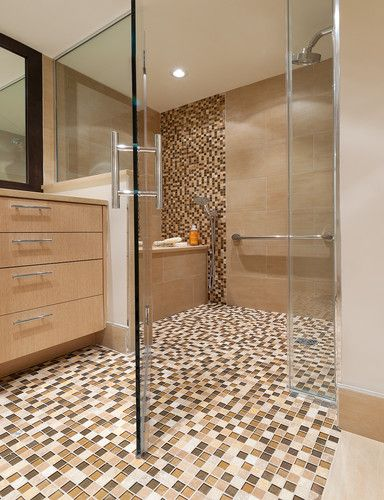Bathtub Inside The Shower Design, Pictures, Remodel, Decor and Ideas