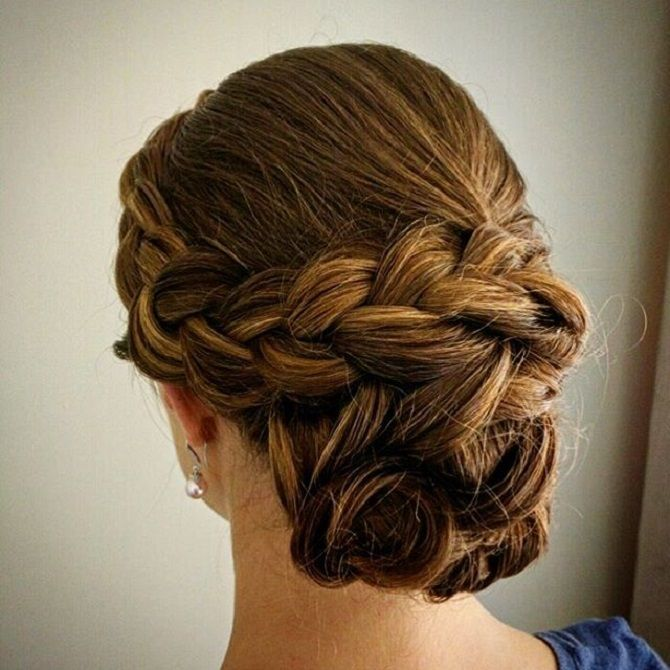 Updo Wedding Hairstyle | fabmood.com #weddinghair #bridalhair #hairstyle #updo #upstyle #braidupdo #hairstyleideas #hairstyles #bridalhairstyle #weddinghairstyles