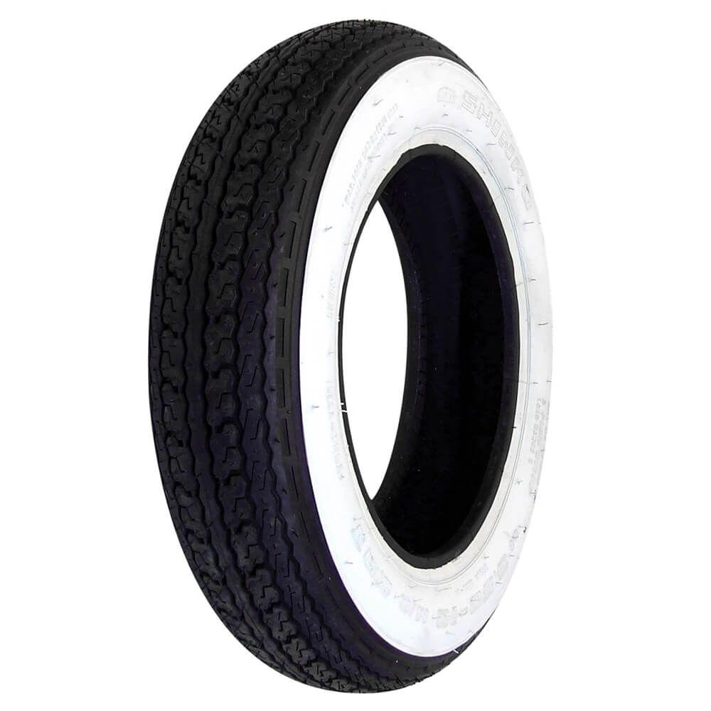 Shinko Tire (Whitewall, 3.50 x 10)