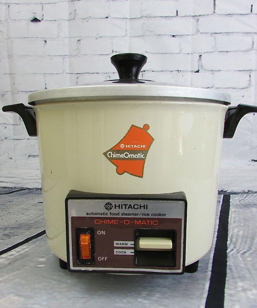 Vintage hitachi chime o matic automatic rice cooker steamer rd vintage hitachi chime o matic automatic rice cooker steamer rd 4053 fandeluxe Image collections